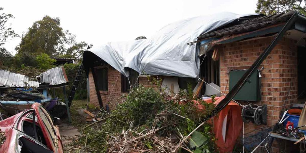 Central Coast resident's near miss with tragedy and Stormseal's innovative make-safe solution