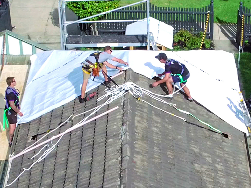Stormseal Saves Insurers Millions | Stormseal weatherproofs buildings to prevent costly further damage