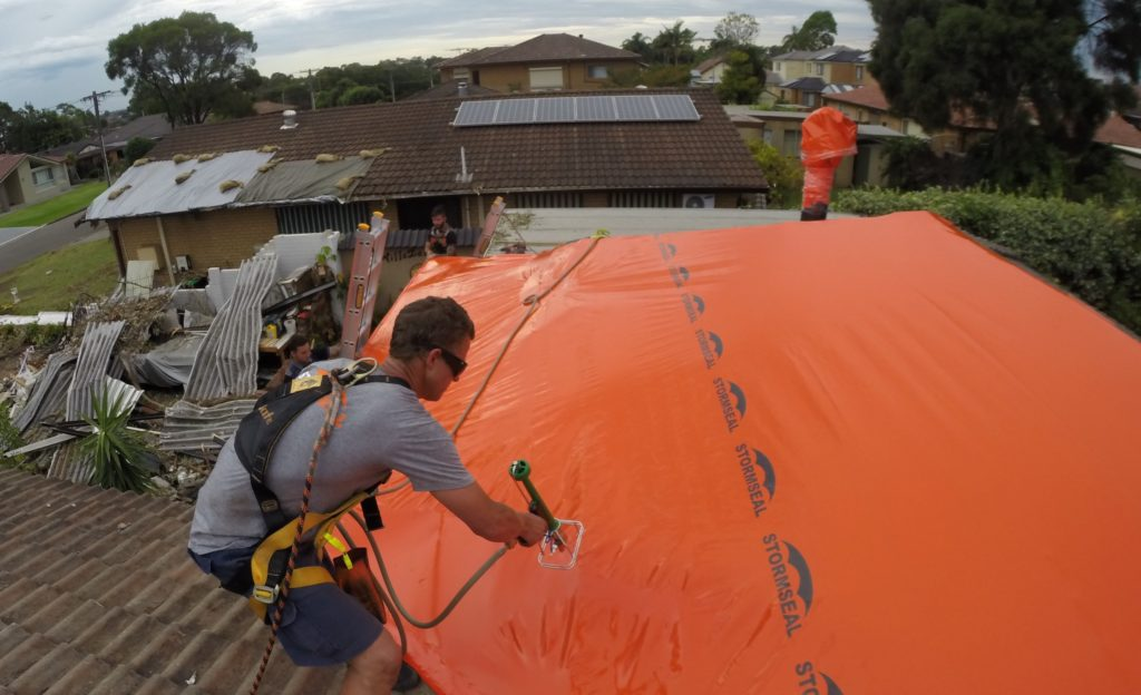 Protect your home with Stormseal | Stormseal: The temporary roofing choice for TPAs.