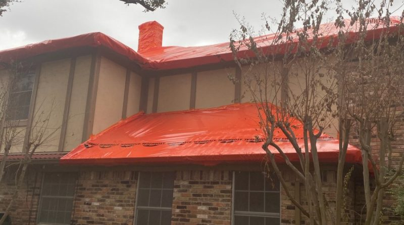 Temporary Roof Protection