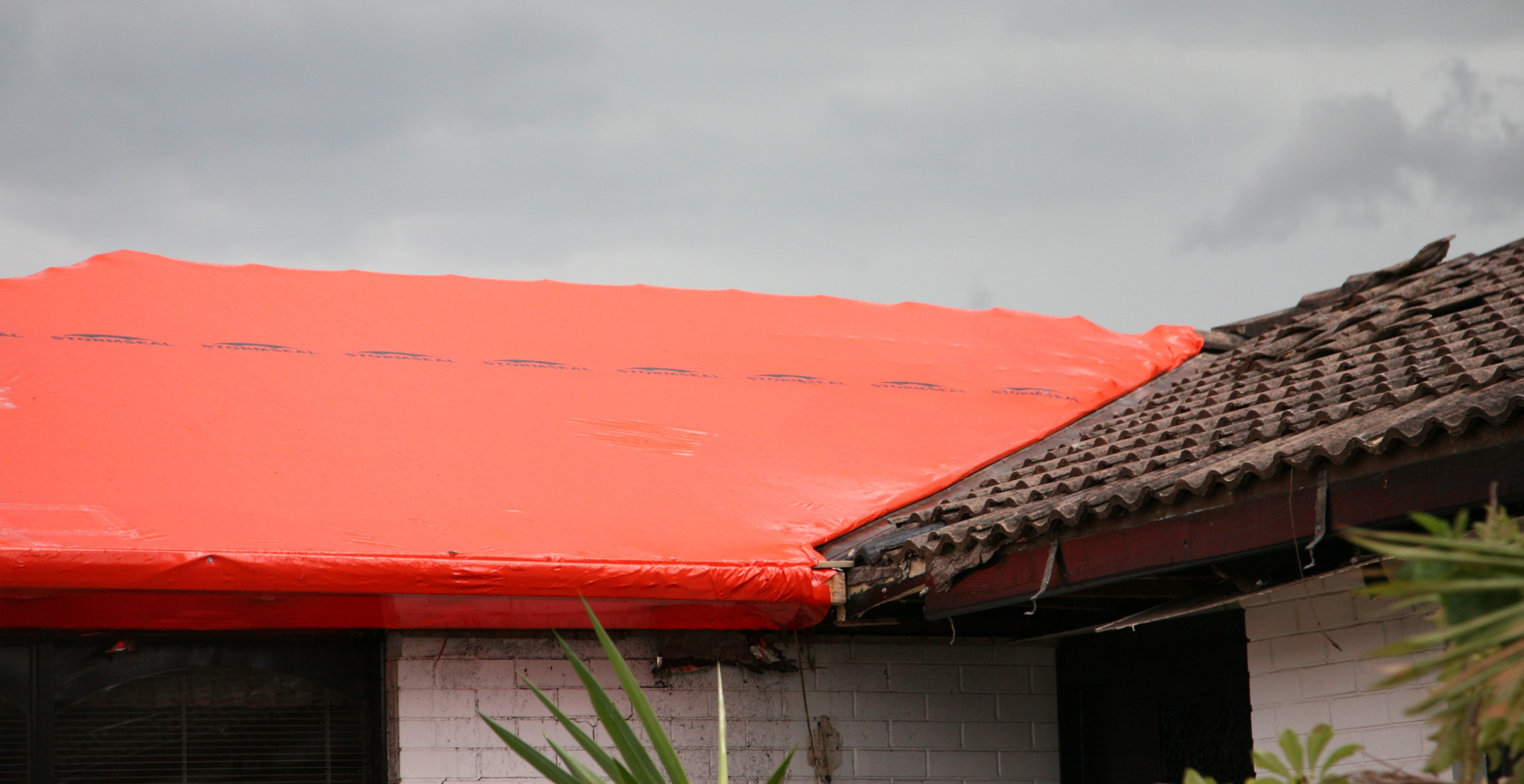 Stormseal for Emergencies: Stormseal weatherproofs buildings to prevent costly further damage