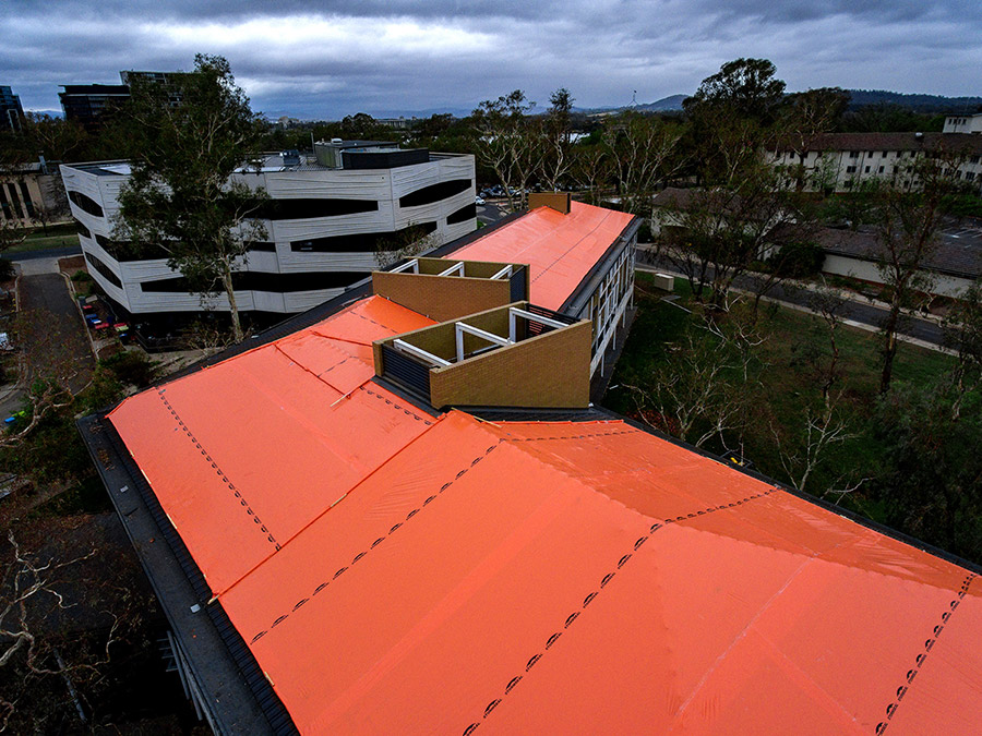 Stormseal weatherproofs buildings to prevent costly further damage